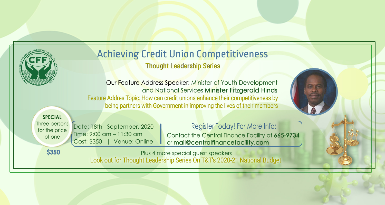 Improving Credit Union Competitiveness in the Covid-19 era and beyond Virtual Thought Leadership Series