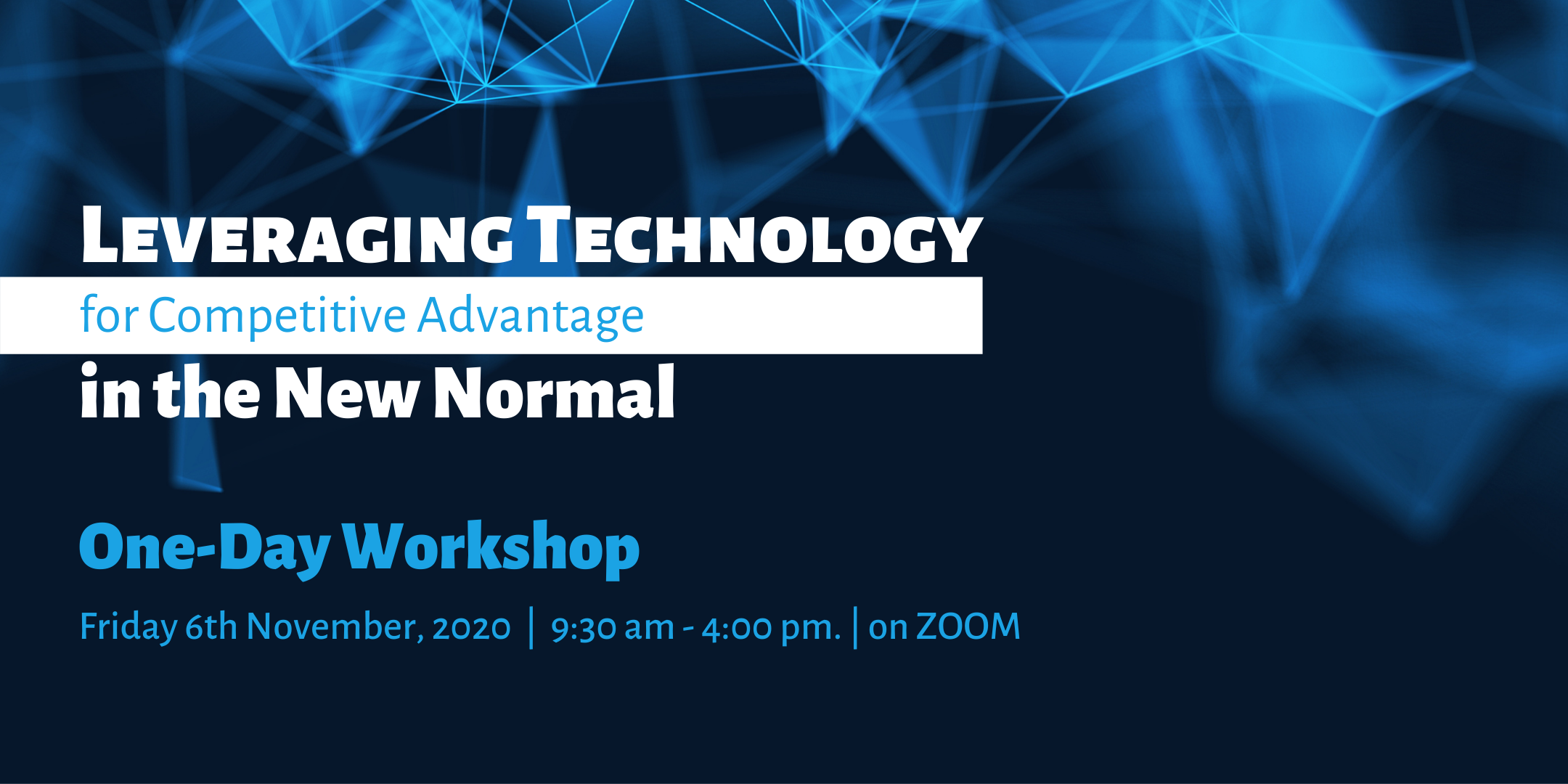 One-Day Technology Workshop