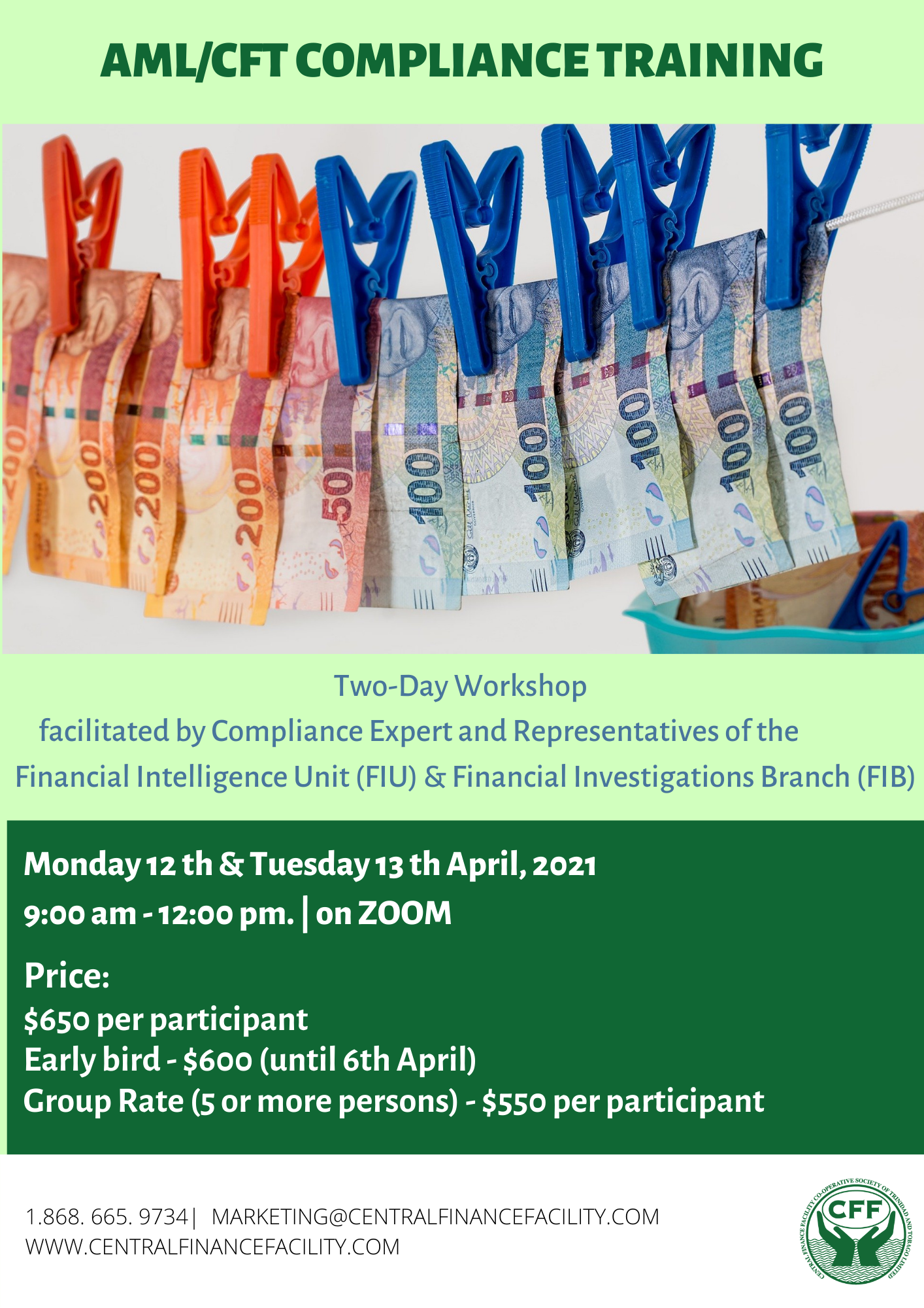 Anti-Money Laundering/Combatting Financing of Terrorism (AML/CFT) Training Workshop